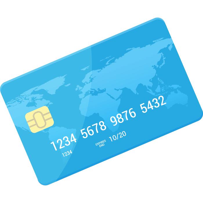 お支払い方法として、クレジットカード登録を行います。※支払い登録が完了するまで「会議.jp」はご利用いただけません。