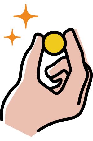 1分あたり10円(税込)